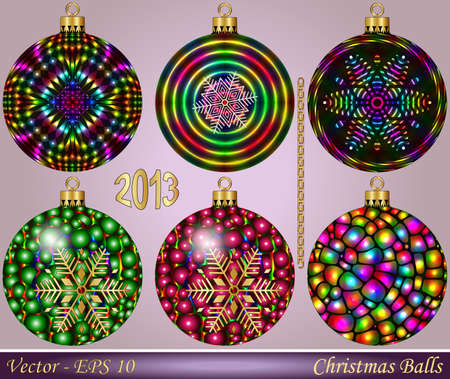 Christmas Balls Stock Vector - 15250822