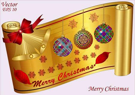 Merry Christmas Stock Vector - 15359516