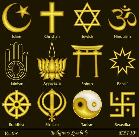 cruz religiosa: Símbolos religiosos