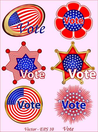 Vote Stock Vector - 15689524