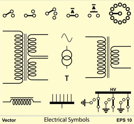 Electrical Symbols Stock Vector - 16651657