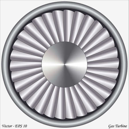 Gas Turbine Stock Vector - 16651664