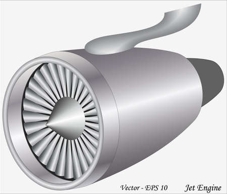 jet engine: Jet Engine Illustration