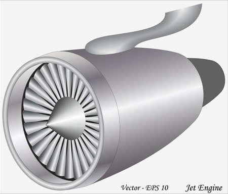 air compressor: Jet Engine Illustration