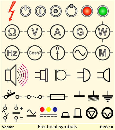 Electrical Symbols Stock Vector - 17005480