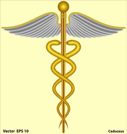 caduceus - Medical Symbol Stock Photo - 17095617