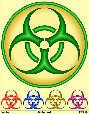 Medical Symbol - Bio hazard  Stock Photo - 17095622