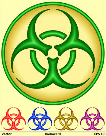 bio hazard: Medical Symbol - Bio hazard
