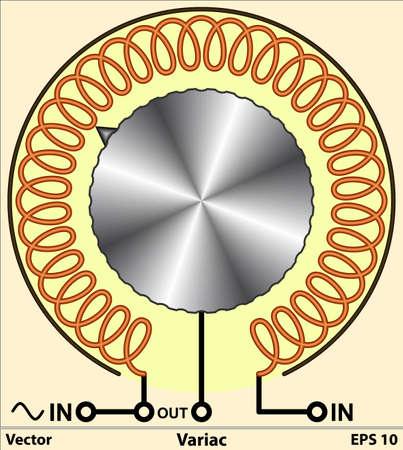 inductor: Variac - Variable auto transformer