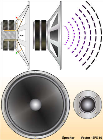 copper magnet: Speaker
