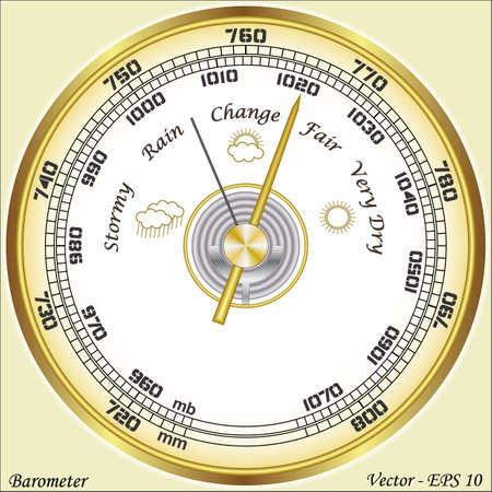 Barometer Stock Vector - 17188153