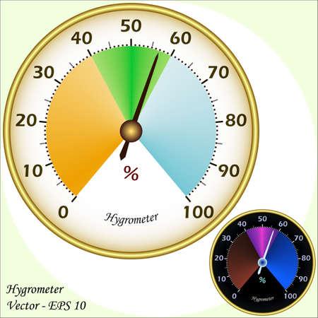 Hygrometer Stock Vector - 17188151