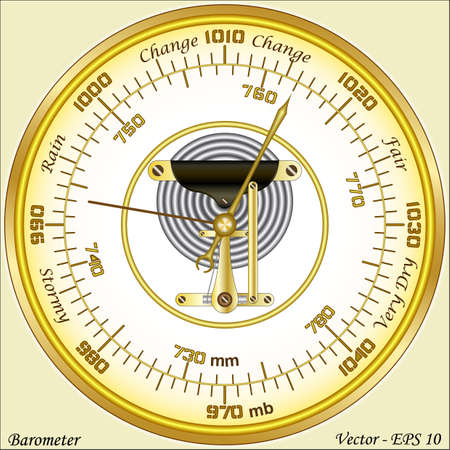 atmospheric pressure: Barometer