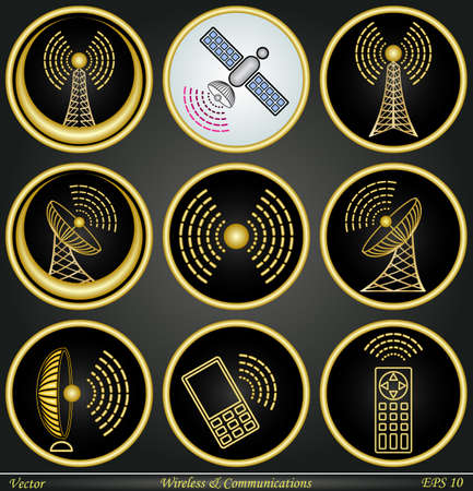 Wireless   Communications Stock Vector - 17300897