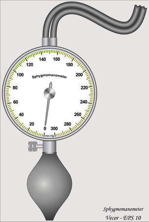 Sphygmomanometer Stock Vector - 17563226
