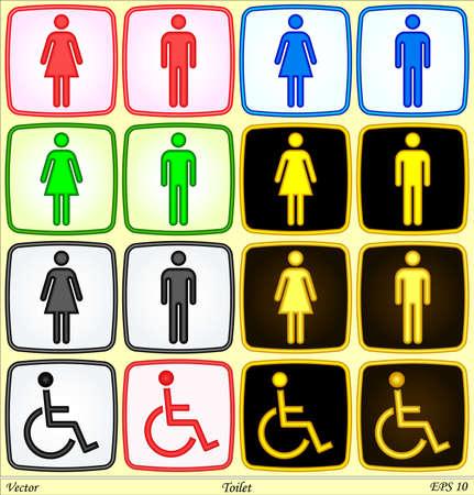 simbolo uomo donna: Toilette