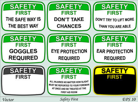 cautious: Safety First Illustration