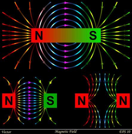 Magnetic Field Illusztráció