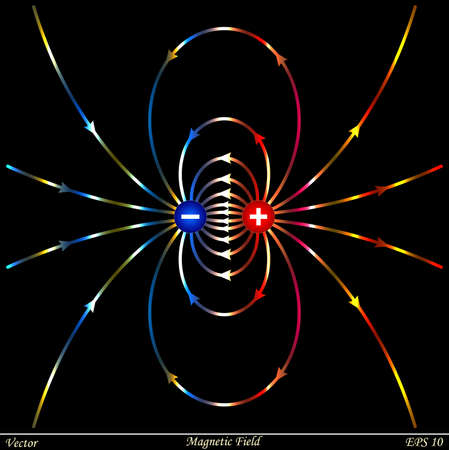 magnetism: Magnetic Field  Illustration