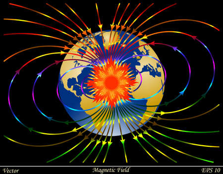 magnetic: Magnetic Field  Illustration