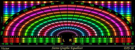 Graphic Equalizer Illustration