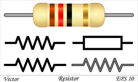 ohm symbol: Resistor
