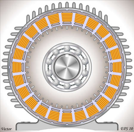 copper magnet: AC Induction Motor