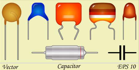 circuitos electricos: Tipos de Condensadores