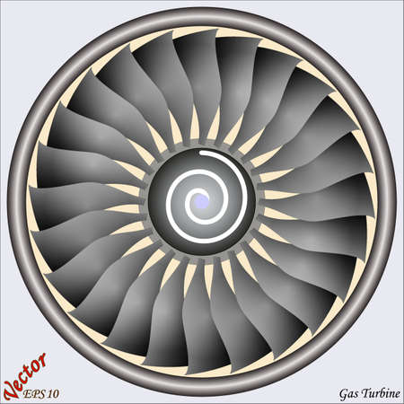 Gas Turbine  Vector