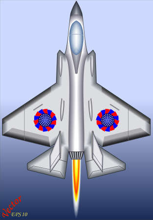 cruise missile: Fighter Jet Illustration