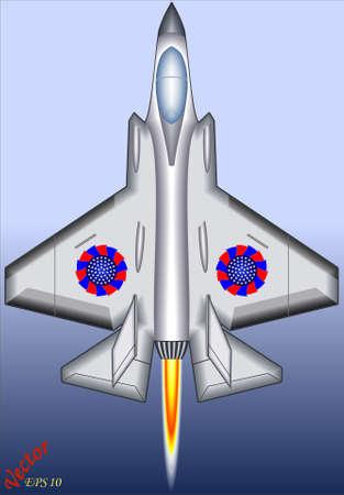 Fighter Jet Stock Vector - 19408472