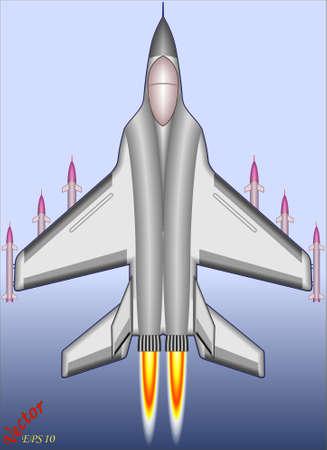 Fighter Bomber  Stock Vector - 19408481