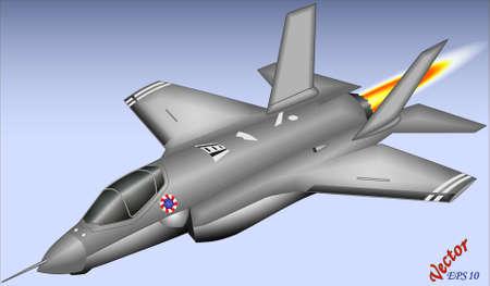 avion de chasse: F-35 Lightning - décollage court et atterrissage