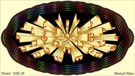 g clefs: Musical Notes