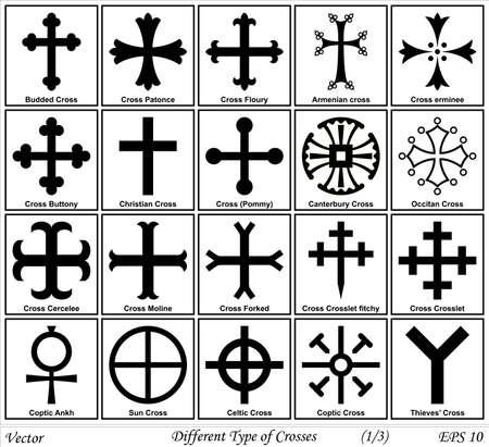 sacrificio: Diferentes tipos de Cruces y sus significados