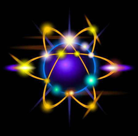 chemical weapon symbol: Atom