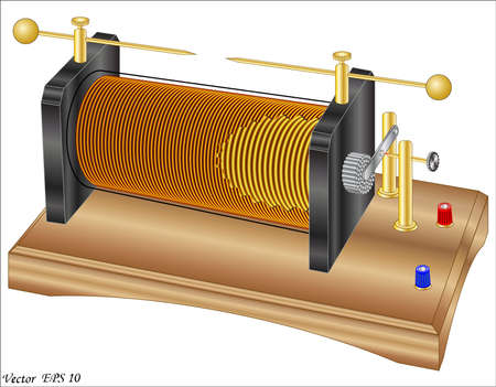 electromagnetic field: Induction coil ruhmkorff