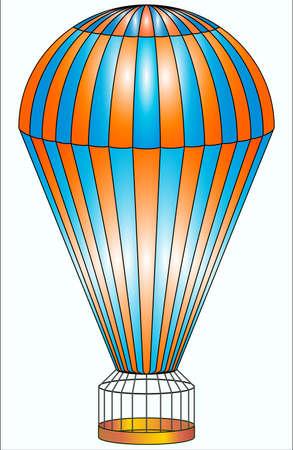 deceleration: Parachute Illustration