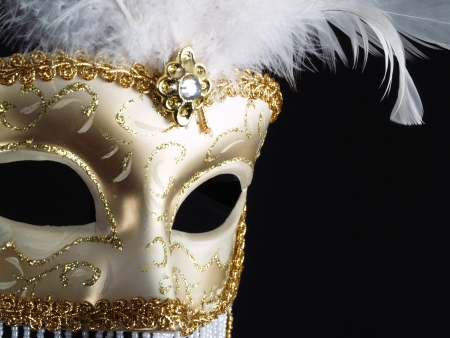 mascara de carnaval: Venetian Carnival Mask
