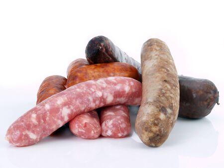 porc: Assorted spanish sausages