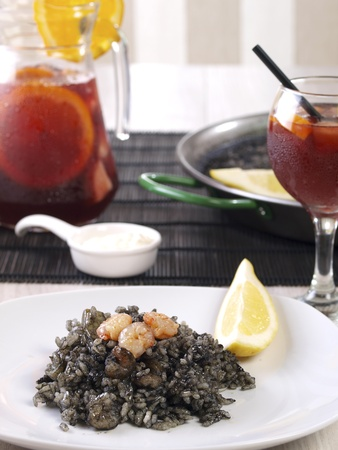Arroz Negro Black Rice photo