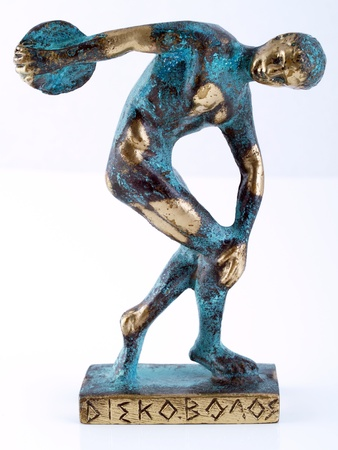 Discobolus statue souvenir. Stock Photo - 15907834