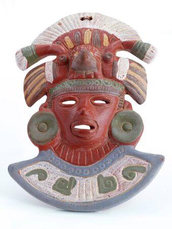 cultura maya: Souvenir Cerámica Máscara maya de México