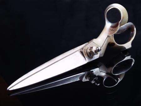 scissor: Big tailor scissors.