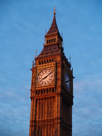 Big Ben at dawn photo