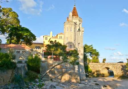 this old palace located in Cascais town and now it Banco de Imagens - 18951968