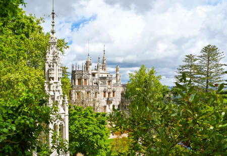 quinta: This palace and chapel are the parts of Quinta da Regaleira, an estate located near the historic center of Sintra, Portugal  The palace is also known as