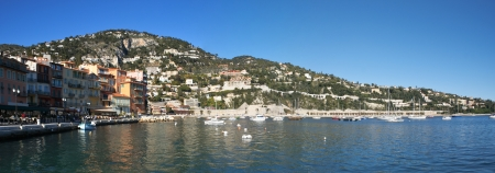 villefranche sur mer: The bay of Villefranche is one of the deepest natural harbours of any port in the Mediterranean Sea, it
