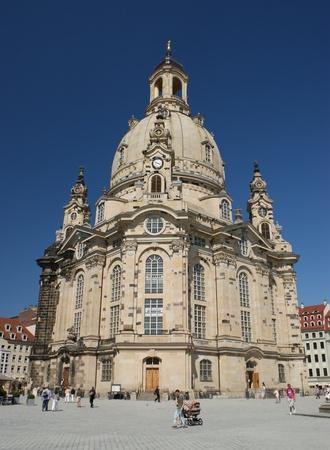 es ist Frauenkirche in Dresden, Deutschland
