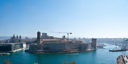 Fort Saint-Jean is a fortification in Marseille, built by Louis XIV at the entrance to the Old Port. photo
